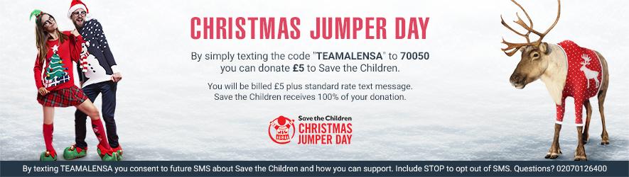 Alensa Christmass Jumper Day