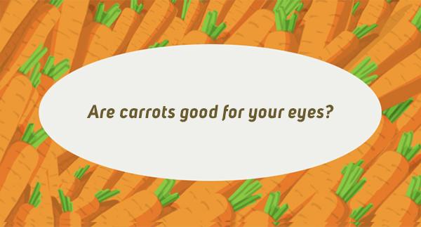 Zijn wortels goed voor jouw ogen?