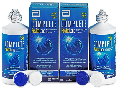 Complete RevitaLens Solution 2 x 360 ml