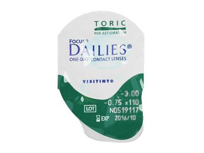 Focus Dailies Toric (90lenses)