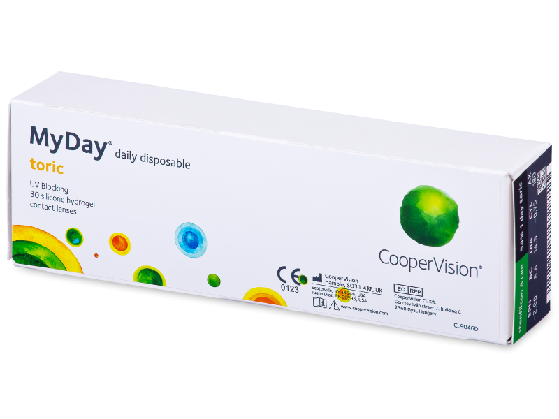 MyDay daily disposable toric (30 lenses)