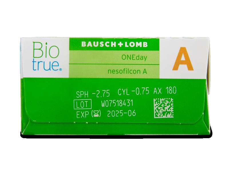 Biotrue ONEday for Astigmatism (30 lenses)