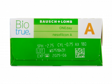 Biotrue ONEday for Astigmatism (90 lenses)