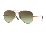 Alensa.co.uk - Contact lenses - Ray-Ban AVIATOR LARGE METAL II RB3026 9002A6