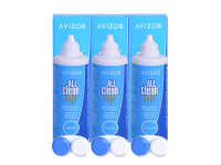 Avizor All Clean Soft solution 3 x 350 ml