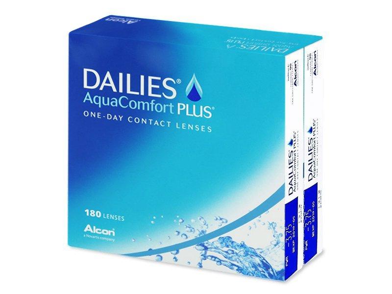 Dailies Aquacomfort Plus 180 Lenses Alensa Uk
