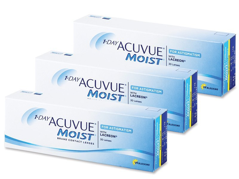 1 Day Acuvue Moist for Astigmatism (90 lenses)