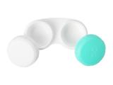 Lens Case Green & White