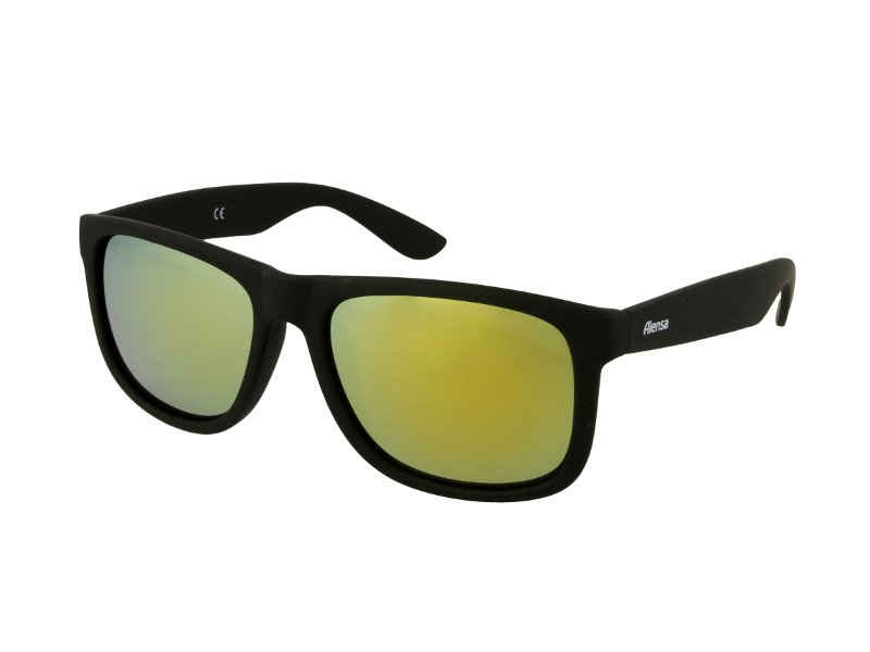 11691643d6cc Sunglasses Alensa Sport Black Gold Mirror | Alensa UK