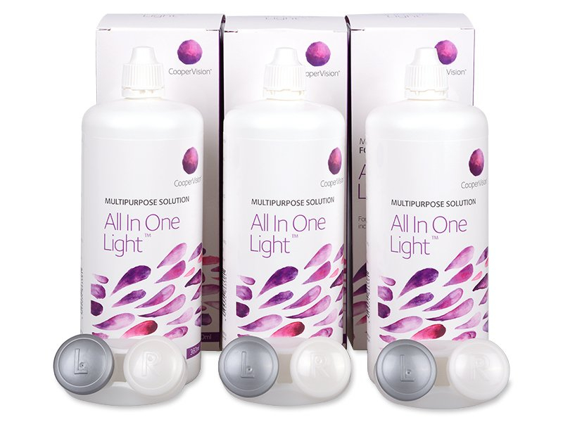 Solution All In One Light 3 x 360 ml