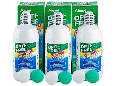 OPTI-FREE RepleniSH Solution 3 x 300 ml