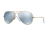 Alensa.co.uk - Contact lenses - Ray-Ban Aviator Flash Lenses RB3025 112/W3