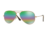 Alensa.co.uk - Contact lenses - Ray-Ban Aviator Mineral Flash Lenses RB3025 9018C3