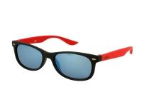 Alensa.co.uk - Contact lenses - Kids sunglasses Alensa Sport Black Red Mirror
