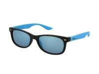 Alensa.co.uk - Contact lenses - Kids sunglasses Alensa Sport Black Blue Mirror