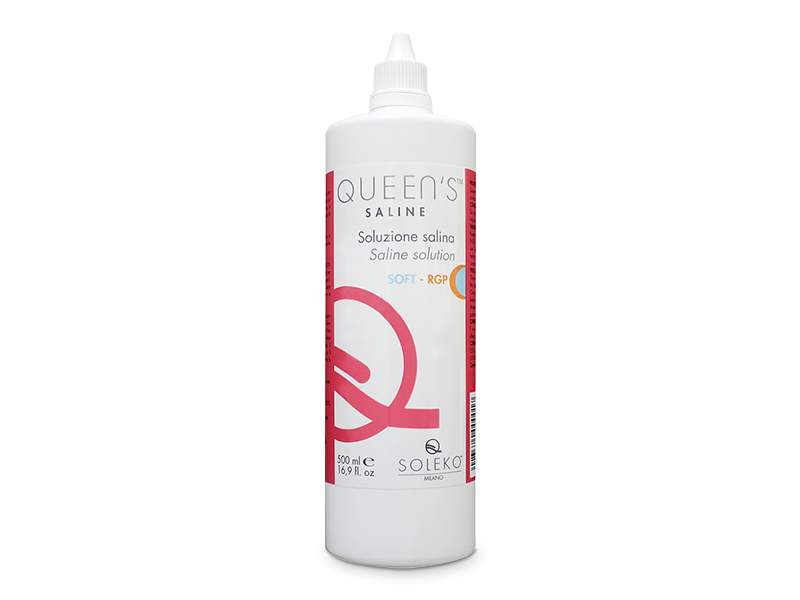 Queen's Saline rinsing solution 500 ml