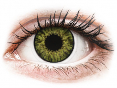 Gemstone Green contact lenses - natural effect - Air Optix (2 monthly coloured lenses)