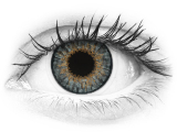 Grey contact lenses - natural effect - Air Optix (2 monthly coloured lenses)