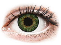 Alensa.co.uk - Contact lenses - Green contact lenses - natural effect - Air Optix
