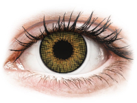 Alensa.co.uk - Contact lenses - Brown Pure Hazel contact lenses - natural effect - Air Optix