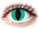 Alensa.co.uk - Contact lenses - Green Anaconda contact lenses - ColourVue Crazy