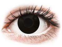 Alensa.co.uk - Contact lenses - Black BlackOut contact lenses - ColourVue Crazy