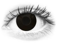 Black BlackOut contact lenses - ColourVue Crazy (2 coloured lenses)