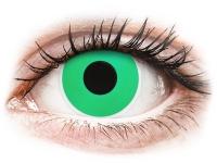 Alensa.co.uk - Contact lenses - Green Emerald contact lenses - ColourVue Crazy