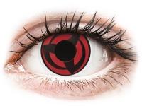 Alensa.co.uk - Contact lenses - Red Kakashi contact lenses - ColourVue Crazy
