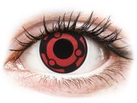 Alensa.co.uk - Contact lenses - Red Madara contact lenses - ColourVue Crazy
