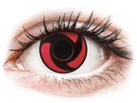 Alensa.co.uk - Contact lenses - Red Mangekyu contact lenses - ColourVue Crazy