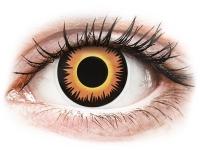 Alensa.co.uk - Contact lenses - Orange Werewolf contact lenses - ColourVue Crazy