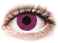 Alensa.co.uk - Contact lenses - Purple contact lenses - ColourVue Crazy