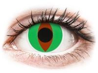Alensa.co.uk - Contact lenses - Green Raptor contact lenses - ColourVue Crazy