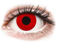 Alensa.co.uk - Contact lenses - Red Devil contact lenses - ColourVue Crazy