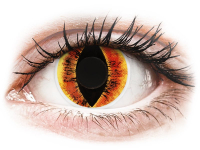 Alensa.co.uk - Contact lenses - Orange Saurons Eye contact lenses - ColourVue Crazy