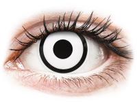 Alensa.co.uk - Contact lenses - White Zombie contact lenses - ColourVue Crazy