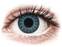 Alensa.co.uk - Contact lenses - Solar Blue contact lenses - power - ColourVue Crazy