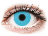 Alensa.co.uk - Contact lenses - Blue Glow contact lenses - ColourVue Crazy