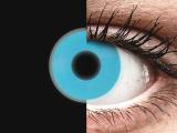 Blue Glow contact lenses - ColourVue Crazy (2coloured lenses)