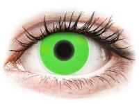 Alensa.co.uk - Contact lenses - Green Glow contact lenses - ColourVue Crazy