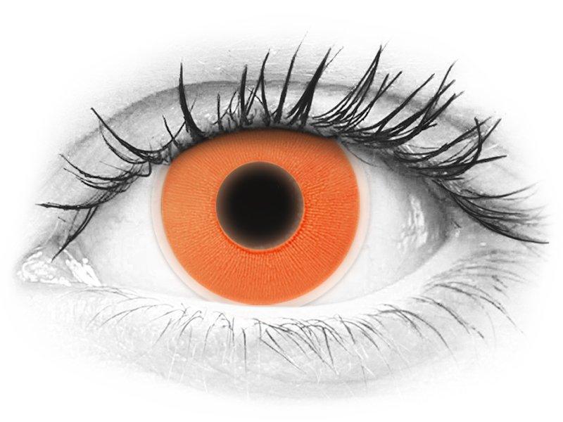 e64d6cc28 Orange Glow contact lenses - ColourVue Crazy (2 coloured lenses) ...