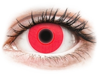 Alensa.co.uk - Contact lenses - Red Glow contact lenses - ColourVue Crazy