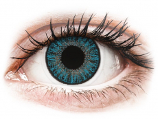 Blue contact lenses - power - TopVue Color (10daily coloured lenses)