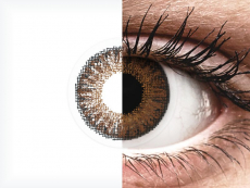 Brown contact lenses - power - TopVue Color (10 daily coloured lenses)