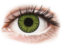 Fresh Green contact lenses - power - TopVue Color (10 daily coloured lenses)