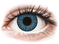 Alensa.co.uk - Contact lenses - Sapphire Blue contact lenses - power - TopVue Color