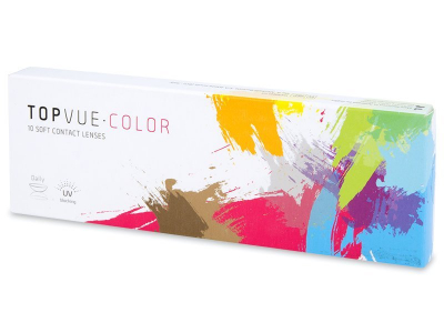 Soft Grey contact lenses - TopVue Color (10 daily coloured lenses)