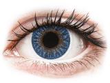 Alensa.co.uk - Contact lenses - Blue True Sapphire contact lenses - power -TopVue Color