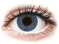 Alensa.co.uk - Contact lenses - Blue True Sapphire contact lenses - power -TopVue Color